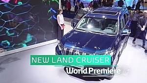 Toyota at Frankfurt motor show 2017 - New land cruiser