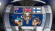 El GP de Singapur 2017 de F1, por 'MiniDrivers'