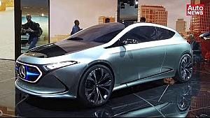 IAA 2017 Video: Mercedes Concept EQA