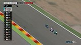 Persaingan tiga pembalap jelang finis balapan Moto3 #AragonGP