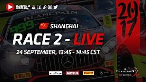 Blancpain GT Series Asia - Shanghai - Race 2