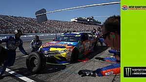 No. 18 crew chief Adam Stevens says pit crew switch 'good call'