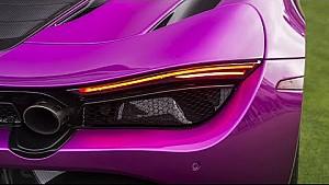 McLaren at Monterey car week 2017