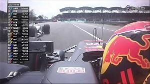 2017 Malezya GP - Verstappen'in Hamilton'ı geçişi