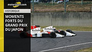 Le GP du Japon de F1 en cinq moments forts