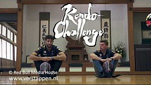 Max Verstappen and Daniel Ricciardo try Kendo, Suzuka, Japan, 04/10/2017