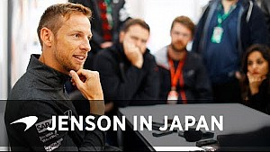 Op de koffie met Jenson Button in Japan