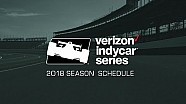 Presenting the 2018 Verizon IndyCar series schedule