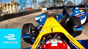 Buemi struggles! Long Beach ePrix 2016 (Season 2 - Race 6) - Formula E