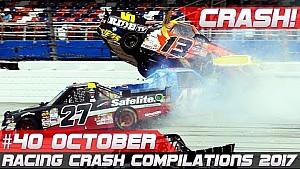 Racingfail! Racing crash compilation week 40 October 2017