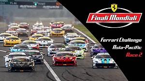 Live: Ferrari Challenge Asia-Pacífico - Carrera 2