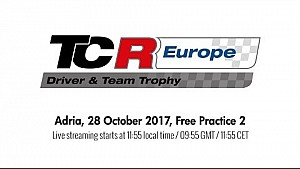 2017 Adria, TCR Europe Trophy free practice 2