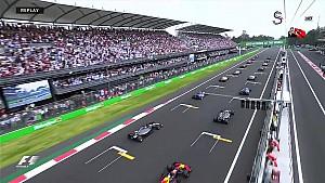 2017 Meksika GP - Start tekrarı