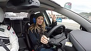 Ride along with Amy Earnhardt at Martinsville