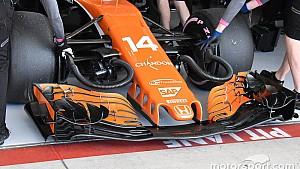 Las mejoras en el McLaren MCL32 de 2017 que contentaron a Alonso