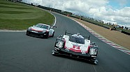 Penampilan bersama Porsche 919 Hybrid dan 911 GT3 Cup