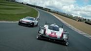 Penampilan bersama Porsche 919 Hybrid dan 911 GT3 Cup
