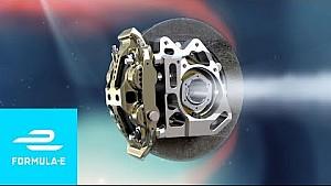 ¿Cómo funcionan los frenos en un coche de Fórmula E?