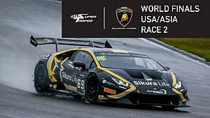 Мировой финал Супер Трофея Lamborghini. USA/Asia: вторая гонка