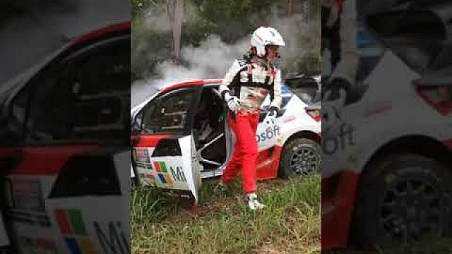 Choque de Latvala - WRC Rally Australia