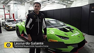 Lamborghini Super Trofeo World Final - Interview with Leonardo Galante