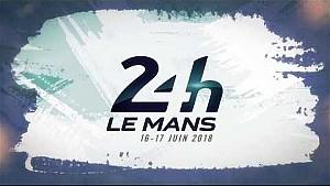 Presentación del cartel oficial de las 24 horas de Le Mans 2018