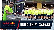 How to build an F1 garage | Red Bull Racing get set up for the Abu Dhabi Grand Prix