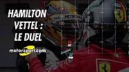 Hamilton-Vettel : le duel