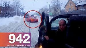 Car crash compilation 942 - December 2017