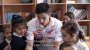 Márquez and Pedrosa as 'maths teachers'