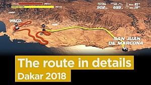 La ruta etapa por etapa - Dakar 2018