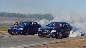 За лаштунками: BMW M5 дріфтить 8 годин