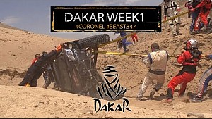 Samenvatting Dakar 2018 Week 1 van Tim en Tom Coronel