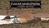 Tim en Tom Coronel tijdens de marathonetappe van de Dakar Rally