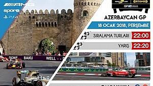 Ortombo Akademi F1 2017 PS4 GP2 Azerbaycan GP