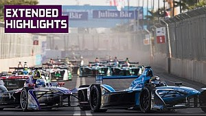 Extended highlights: Marrakesh E-Prix 2018 (Round 3)