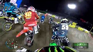 GoPro: Adam Cianciarulo triple crown main event #3 2018 Monster Energy Supercross from Anaheim