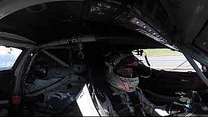 Hotlap with the Porsche 911 RSR at Daytona (360° video)