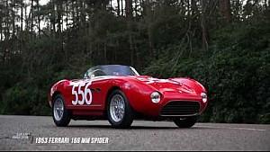 Історія 1953 Ferrari 166 MM Spider
