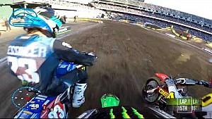 GoPro: Adam Cianciarulo heat race 2018 Monster Energy Supercross from Oakland