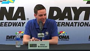Alex Bowman ready to 'own' nickname