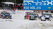 Revivez la manche de RallyX on Ice de Höljes