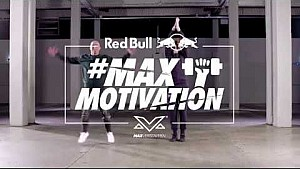Max motivation: legs/lunges - Max Verstappen and JayJay Boske