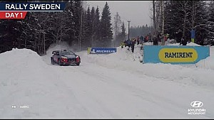 Rally Sweden day one - Hyundai Motorsport 2018