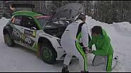 Rally di Svezia 2018 | Problemi per Umberto Scandola