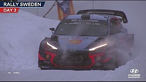 Rallye de Suède - Jour 3 - Hyundai Motorsport