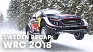 Rewatch the best moments of rally Sweden