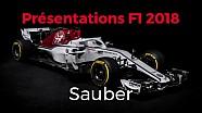 Présentations F1 2018 - Sauber