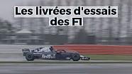Les livrées d'essais de la F1 - Motorsport Stories