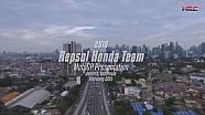 Presentasi tim Repsol Honda 2018 di Jakarta